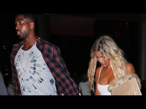 Khloe Kardashian and NBA Star Tristan Thompson Make Out in Miami at Kanye West's Concert