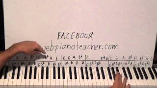 Piano Lesson The 15th Hired Request - A Familiar Folk Song In A Minor Key