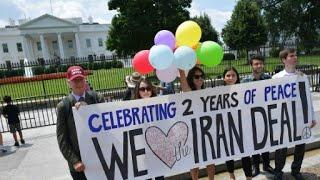 ترامب يبقي على الاتفاق النووي مع إيران ويهدد بفرض عقوبات أخرى
