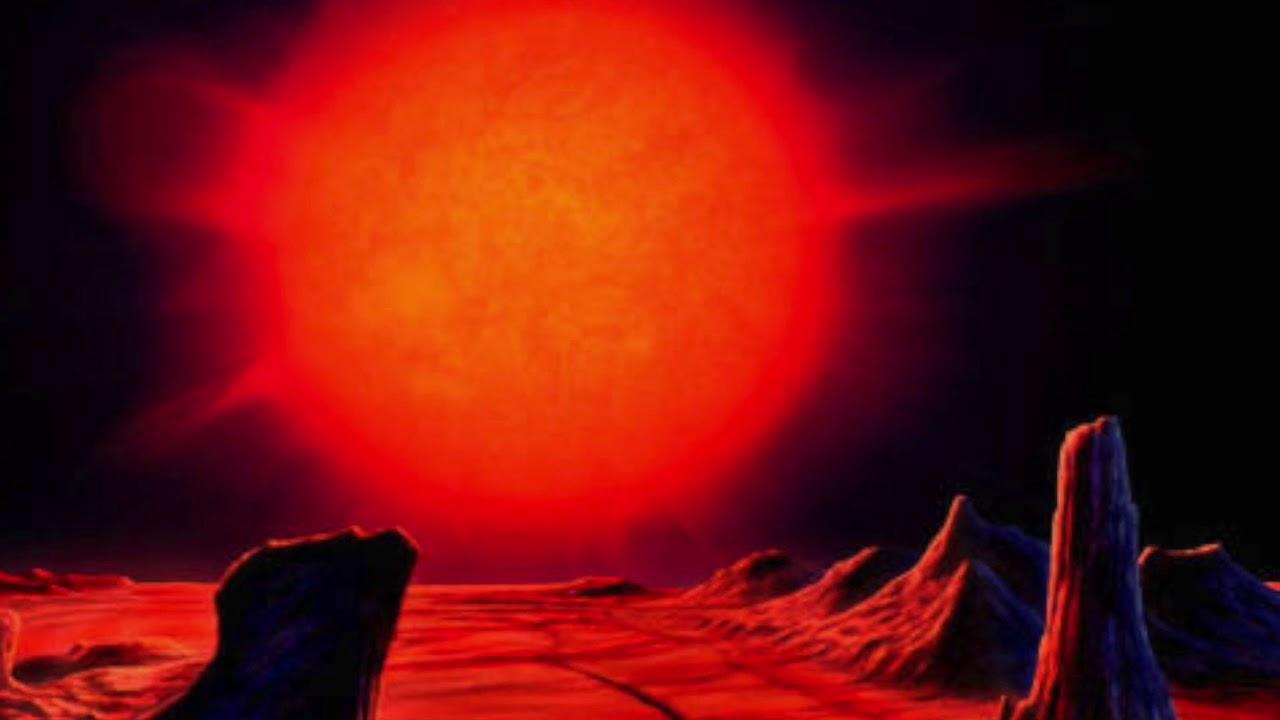 red giant sun - HD1024×768