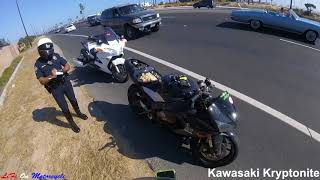 POLICE vs. BIKERS 2018 | ENCOUNTERS & POLICE PULLOVERS 2018 [Ep #49]