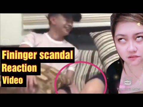 Finger Scandal l Mary Lite Lamayo At Roi Oriondo Viral Video Scandal