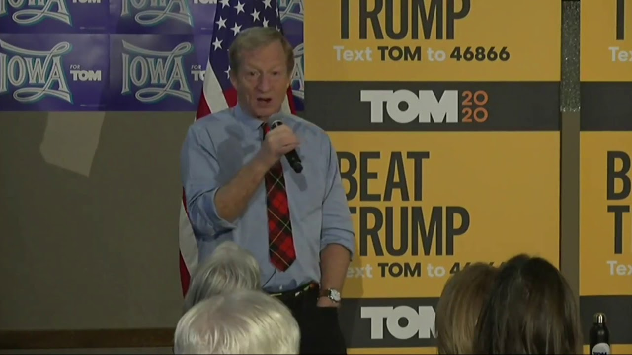 Tom Steyer compares impeaching Trump to prosecuting Nazi war ...