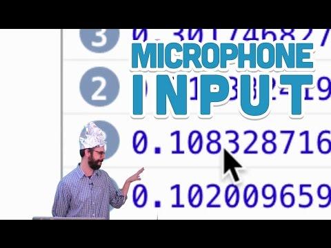17.8: Microphone Input - P5.js Sound Tutorial