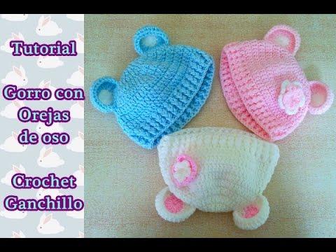 Gorros a crochet para bebe paso a paso - Como hacer un cambiador para bebes ...