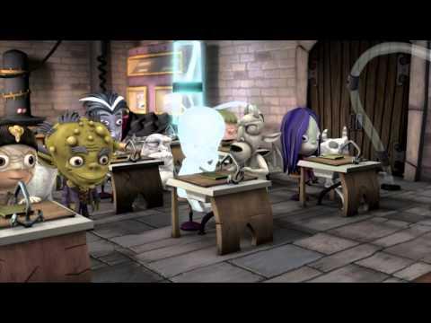 Мультфильм школа ужасов
