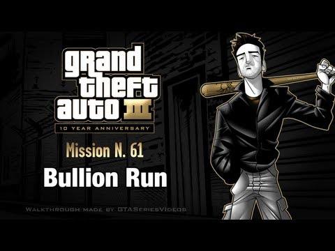 GTA 3 - IPad Walkthrough - Mission #61 - Bullion Run
