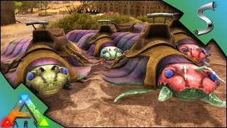 ARTHROPLEURA TAMING! TURRET MODE FOR BASE DEFENSE! - Ark: Scorched Earth [Gameplay S2E16]