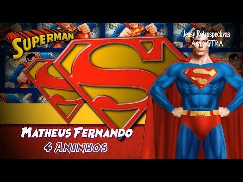 Convite Animado Tema Superman Youtube