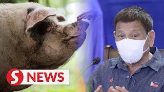 Vaccine deniers will get shot for pigs: Duterte