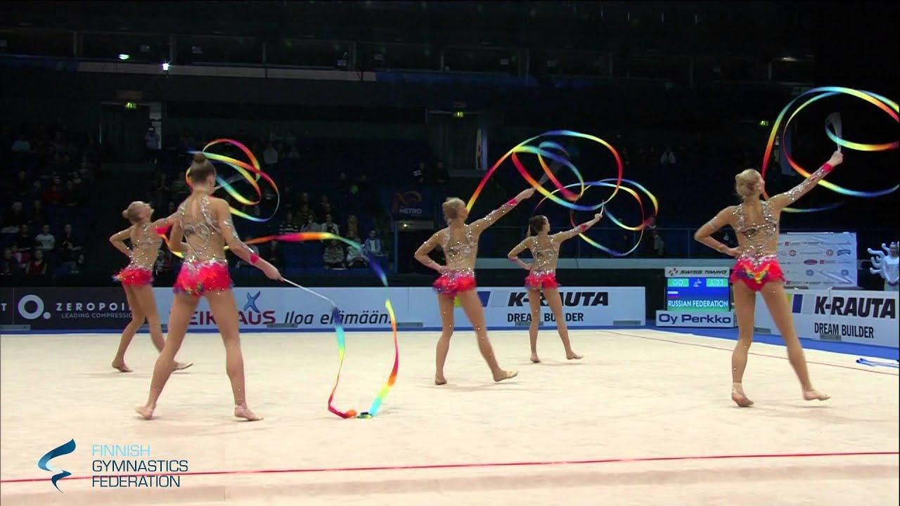 Russia Ribbons - Rhythmic Gymnastics World Cup 2016 Espoo