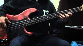 Black Rebel Motorcycle Club - Hate The Taste (Bass Cover)
