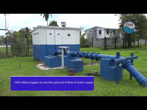 Guyana Water Inc Monitors Water Pressure & Flow