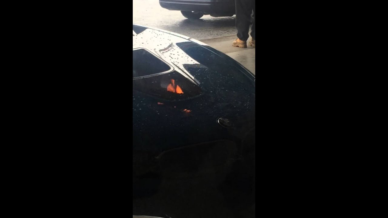 Bmw I8 Caught On Fire Youtube