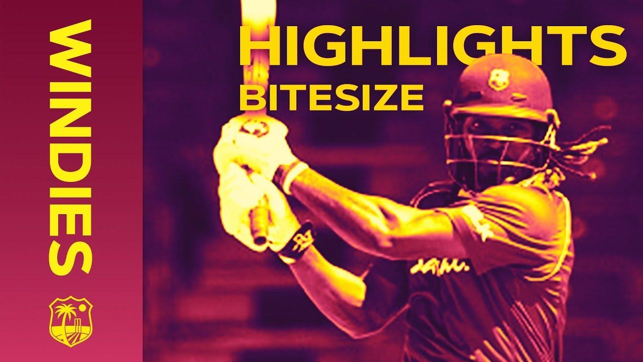 Windies v Bangladesh 3rd ODI 2018   Bitesize Highlights