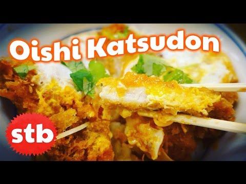Japanese Food Tour: Katsudon AKA Pork Tonkatsu Rice Bowl // SoloTravelBlog