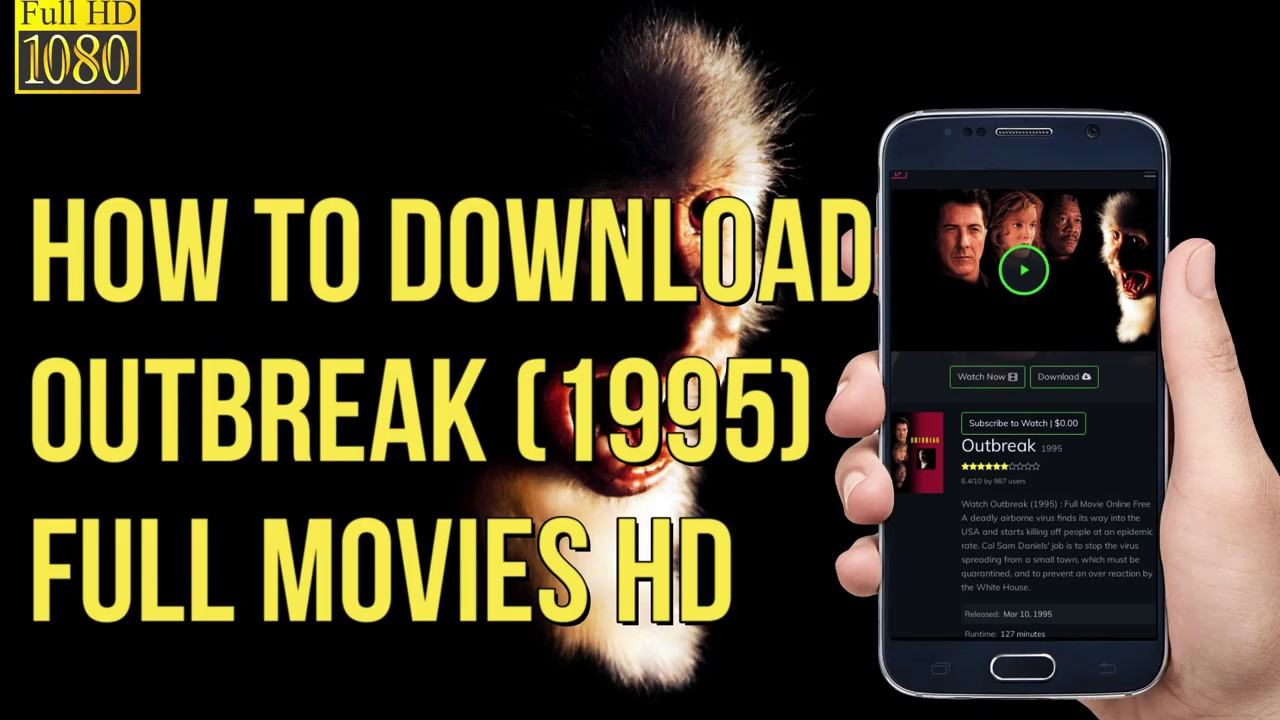 How To Download Outbreak 1995 Full Movies In Hd Mobile Pc Download Outbreak Youtube