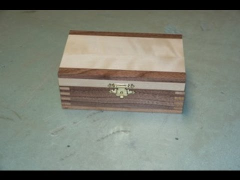 Making small jewelry boxes youtube for How to make a ring box out of wood