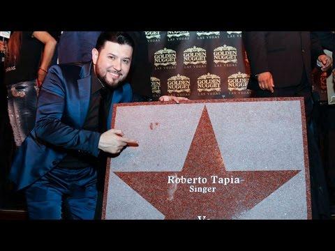 Roberto Tapia recibió su estrella en Las Vegas