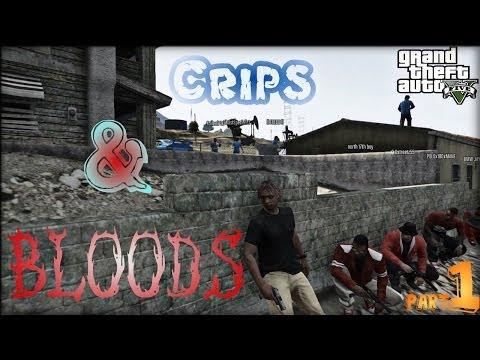 GTA 5 (Crips & Bloods Part 1) [HD]