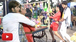 bhojpuri movie swarg new song on location arvind akela kallu ritu singh