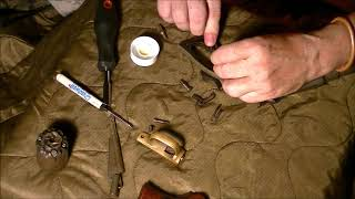 PERCUSSION REVOLVER  1858 ASSEMBLY