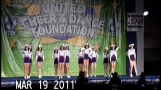 Stonehill College Cheer 2010-2011