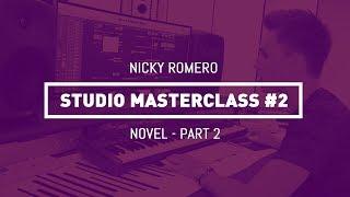 nicky romero studio masterclass 02 novell pt 2