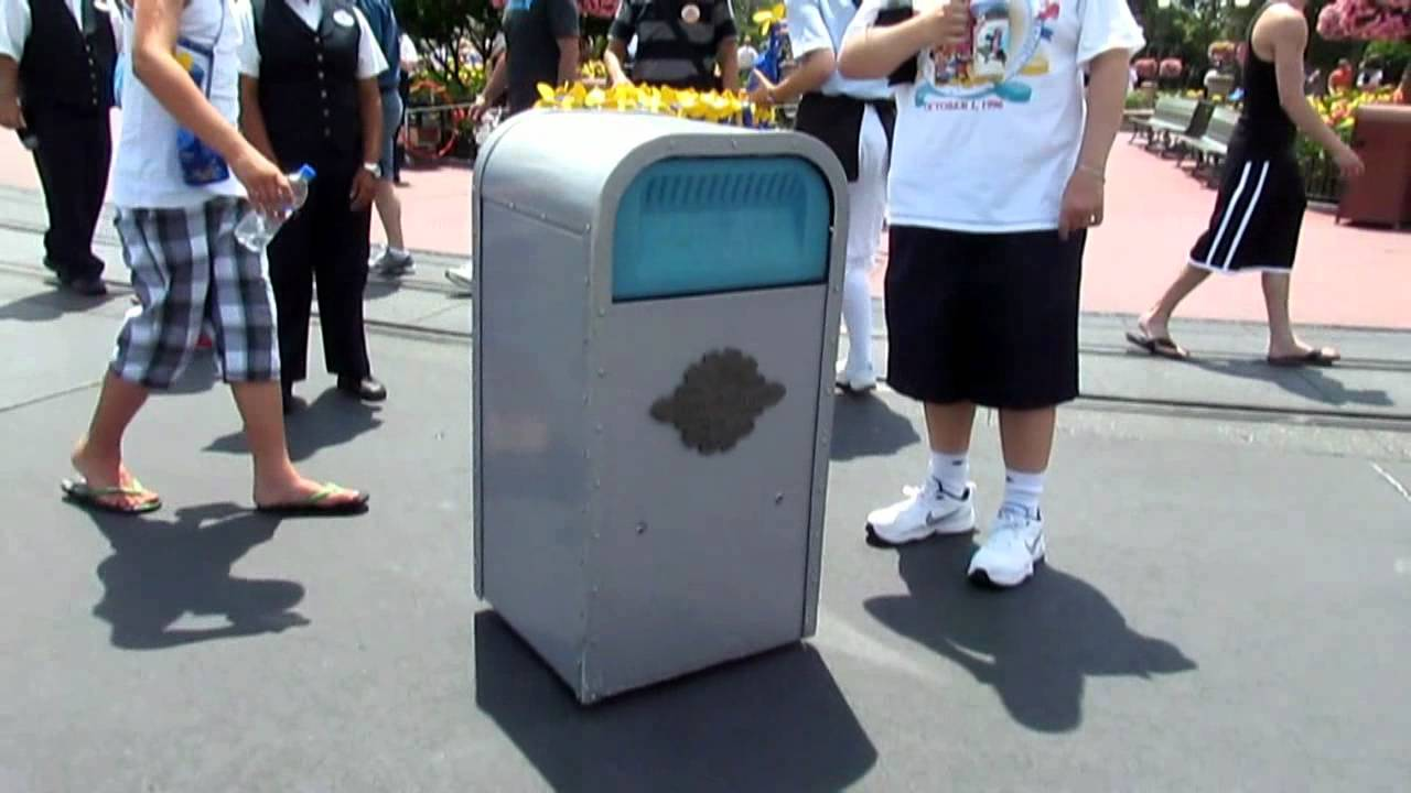 Image result for disney world trash cans