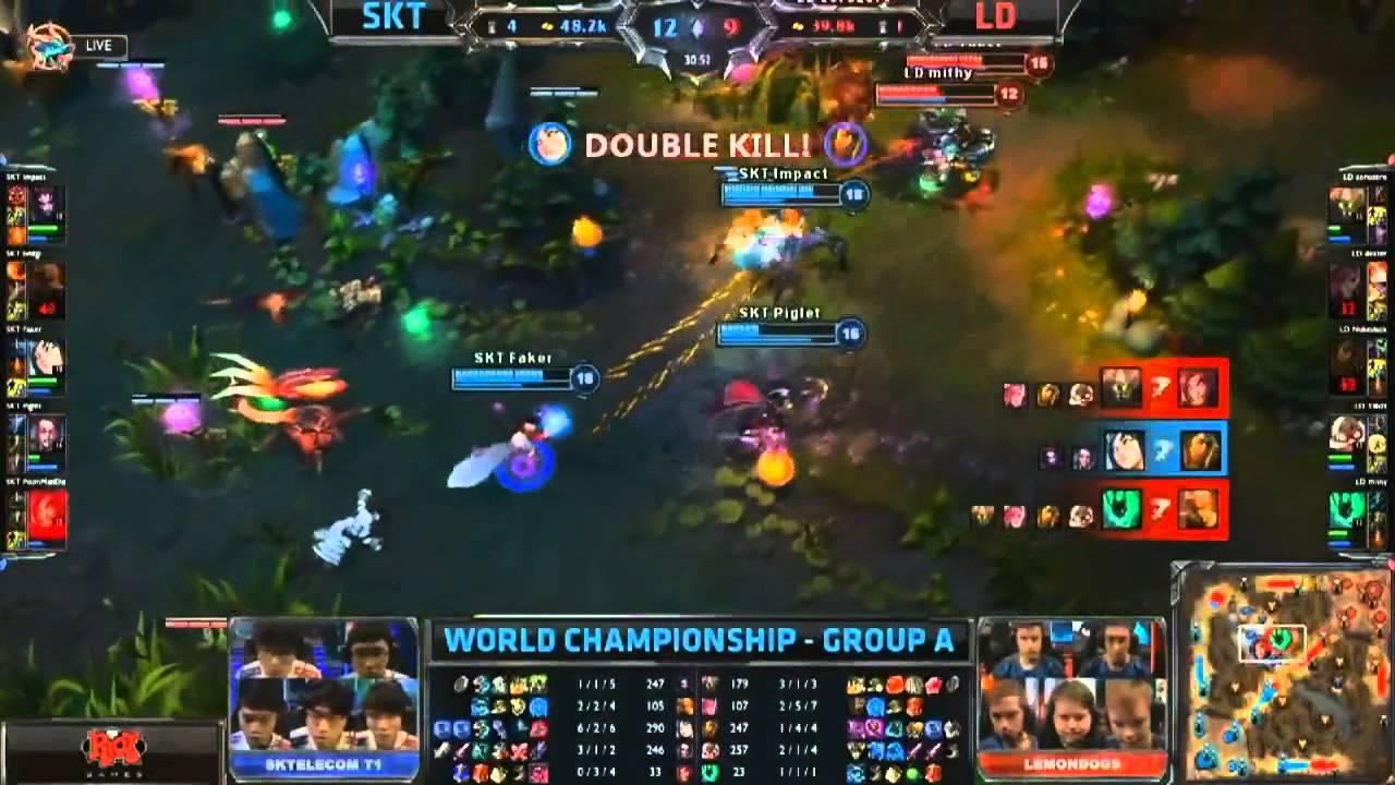 League of Legends Season 3 World Championship Day 1 Highlights HD YouTube