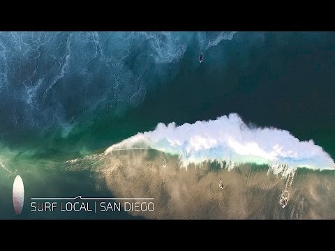 Surf Local | San Diego | La Jolla | Surfing Blacks Middle Peak | 11.10.16