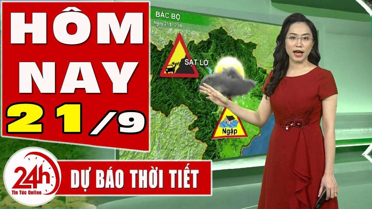 Dự báo thời tiết hôm nay mới nhất ngày 21/9/2020 Dự báo thời tiết 3 ngày tới. Mưa rào rải rác