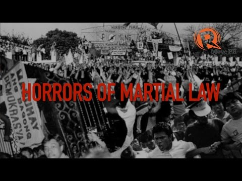 Download Youtube: Horrors of Martial Law