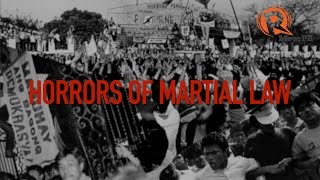 Horrors of Martial Law