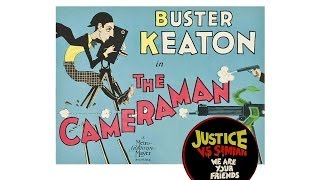 "Buster Keaton's ""The Cameraman"" (1928) ✄ with We are Your Friends"" by Justice vs Simian"