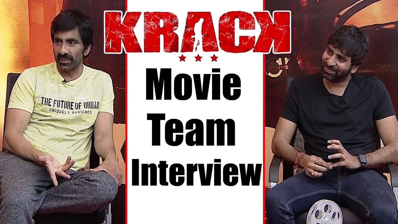 Krack Movie Team Chit Chat | Ravi Teja | Director Gopichand Malineni | GreatAndhra