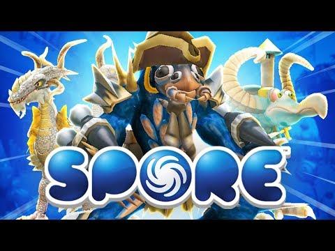 CREATING A SPECIES! - Spore w/ Vikkstar Presented by EA