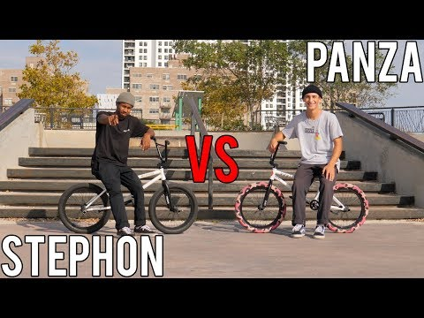ANTHONY PANZA VS STEPHON FUNG GAME OF BIKE (2018)