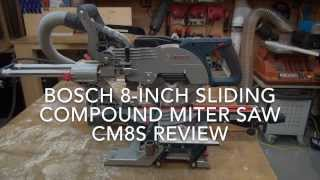 Bosch 8-inch Sliding Compound Miter Saw Cm8s