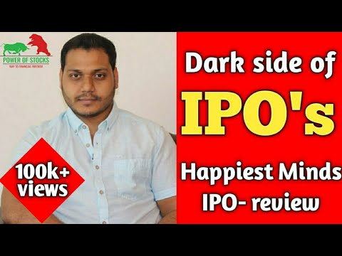 IPO Secrets That No One Will Tell You! | Happiest Minds IPO Review