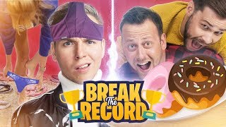 ONDERBROEK SPRINGEN & DONUTS ETEN! - Break The Record #1