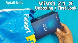ViVO Z1x unboxing / First Look || Fully Loaded / A Perfect Package || ViVO Z1x Specifications