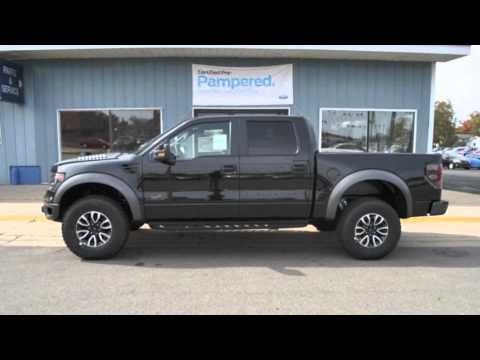 2013 Ford F 150 Svt Raptor Tuxedo Black Metallic