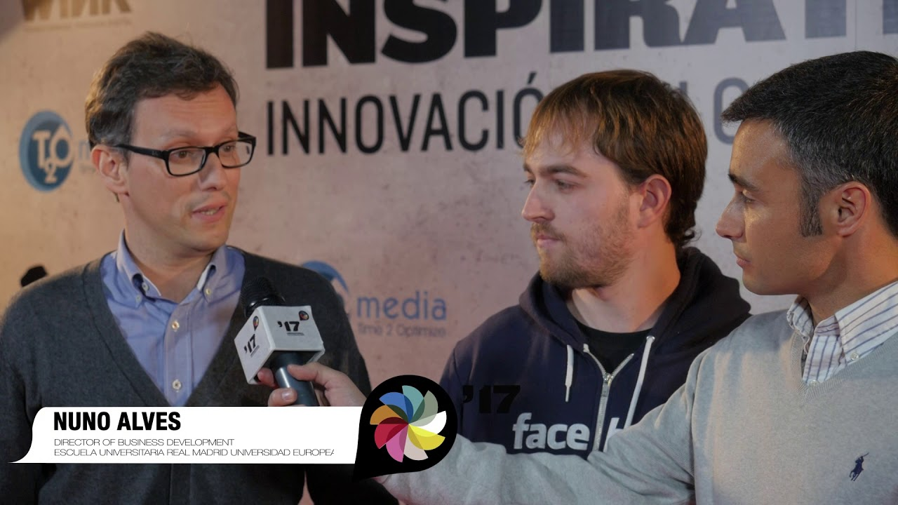 Festival  Inspirational 2017: Entrevista a Nuno Alves, Fernando Piquer  e Iñaki Soriano