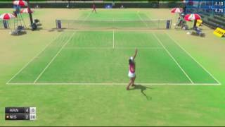 ITF Tennis 15.05.2017 Nagi Hanatani (Japan) - Megumi Nishimoto (Japan) 2:0 (7-5 6-1)