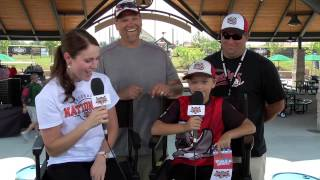 World Series tickets winner at Youth Baseball Nationals