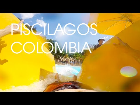 GO PRO HERO 4 AT PISCILAGO, WATER PARK | CUNDINAMARCA COLOMBIA