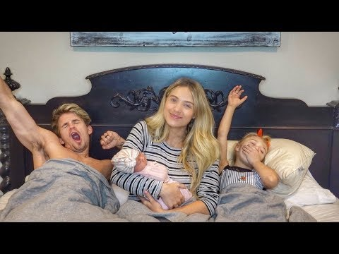 Our New Family Morning Routine With Baby Posie!!!
