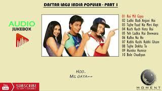 DAFTAR LAGU INDIA POPULER - PART 1 ( LIRIK)