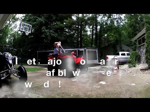 How I Clean My ATV's